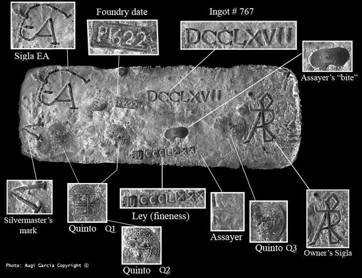 Articles Study On A Shipwreck Silver Bar Recovered From