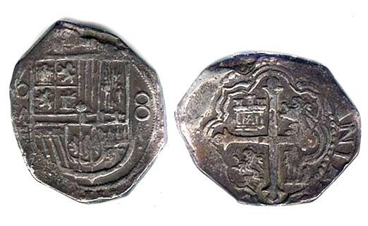 8 Reales Early 1600s Another Mexican Cob 8R Fake This One Actually Fooled Me Till I Saw It In Person And Noticed Telltale Tiny Balls On The Surface