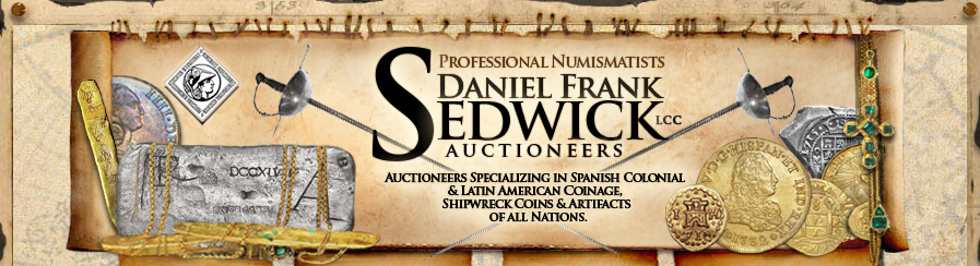 Professional numismatists specializing in the colonial coinage of Spanish America, shipwreck treasure coins and artifacts of all nations.