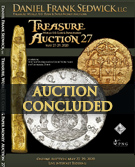 Treasure and World coin Auction #27 - NOW PRE-OPEN - REGISTER TODAY