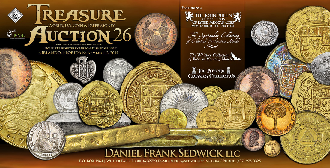 Treasure, World, U.S. Coin and Paper Money Auction 26