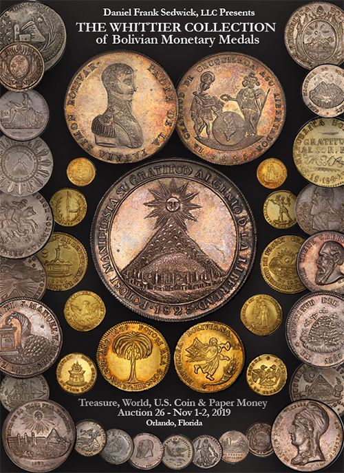 The Whittier Collection of Bolivian Monetary Medals