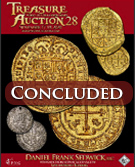 Treasure and World coin Auction #28 - NOW -OPEN - REGISTER TODAY