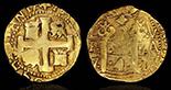 Bogota, Colombia, cob 2 escudos, Ferdinand VI, assayer SR to left, PCGS AU58.