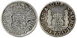 Mexico City, Mexico, pillar 2 reales, Charles III, 1765M.
