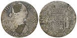 Mexico City, Mexico, bust 8 reales, Charles IV, 1800FM.
