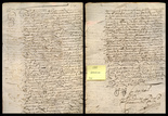 Spanish colonial document