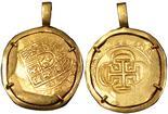 Mexico City, Mexico, cob 8 escudos, (1714), oMJ,
