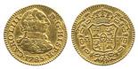 Madrid, Spain, bust 1/2 escudo, Charles III, 1785DV.