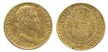 Madrid, Spain, bust 2 escudos, Ferdinand VII, 1814GJ.
