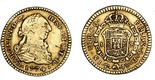 Bogota, Colombia, bust 1 escudo, Charles III, 1774JS.