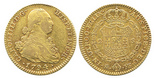 Madrid, Spain, bust 2 escudos, Charles IV, 1794MF.