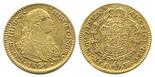 Madrid, Spain, bust 2 escudos, Charles IV, 1804FA.
