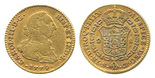 Seville, Spain, bust 2 escudos, Charles III, 1779CF.