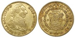 Madrid, Spain, bust 2 escudos, Charles IV, 1788M. CT-459; KM-417.1a. Nice XF+ with no problems, nice luster.