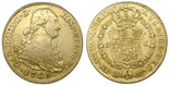 Madrid, Spain, bust 2 escudos, Charles IV, 1789MF. CT-323; KM-435.1. AXF, no problems.