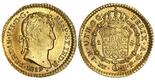 Lima, Peru, bust 1 escudo, Ferdinand VII, 1819JP.