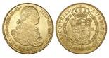 Potosi, Bolivia, bust 8 escudos, Charles IV, 1806PJ.
