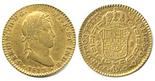 Cadiz, Spain, bust 2 escudos, Ferdinand VII, 1812CI, small mintmark.