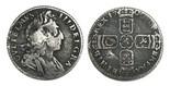 Great Britain, sixpence, William III, 1700.