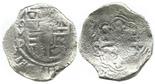 Mexico, cob 8 reales, Philip IV, assayer D.