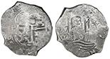 Potosi, Bolivia, cob 8 reales, 1679(C).