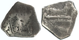 4 reales cob piece of eight  1715 Plate Fleet, east coast of Florida