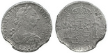 Mexico, bust 8 reales, Charles III, 1777FM.