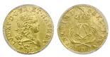 France (Lyon mint), louis d'or, Louis XV, 1723-D, PCGS MS61.