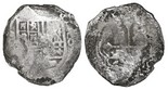 Mexico City, Mexico, cob 8 reales, Philip IV, assayer not visible.