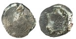 Clump of 2 cob 4R of Philip II: one Mexico assayer O and the other Lima assayer oD.