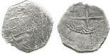 Potosi, Bolivia, cob 2 reales, Philip III, assayer C, rare.