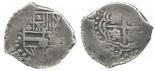 Potosi, Bolivia, cob 1 real, (1650-1)O.