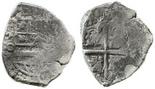 Potosi, Bolivia, cob 2 reales, (164)9O, rare.
