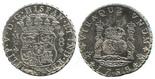 Mexico, pillar 8 reales, Philip V, 1738MF.