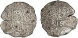 Potosi, Bolivia, cob 8 reales, Philip IV, assayer not visible (shield type).