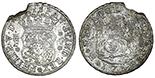Mexico City, Mexico, pillar 4 reales, Philip V, various dates (1738-1740), assayer MF. 4 available.