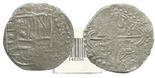 Potosi, Bolivia, cob 8 reales, (161)9(T), Grade 1.