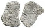Mexico, cob 8 reales, Philip III, assayer F, Grade 4.