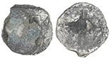Potosi, Bolivia, cob 8 reales, Philip II or III, assayer not visible.