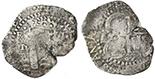 Potosi, Bolivia, cob 4 reales, 1652E Transitional, McLean Type II, rare.