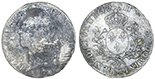 France (Pau mint, for the Province of Bearn), ecu, Louis XV (large bust), 1742, mintmark cow.