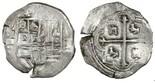 Mexico City, Mexico, cob 1 real, Philip III, assayer F.