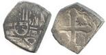 Mexico, cob 2 reales, Philip V, assayer not visible.