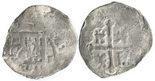Mexico, cob 1 real, Philip IV, assayer not visible.