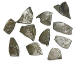 Mexico City, Mexico, cob 1 reales, Charles II, assayers not visible, ex-Pasay hoard (Philippines).