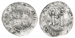 Lima, Peru, 4 reales, Philip II, assayer R (Rincon) to left, motto PL-VSV-LT, legends HISP / NIARVM.