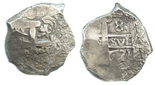 Potosi, Bolivia, cob 8 reales, 1771(V-Y).
