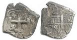 Potosi, Bolivia, cob 2 reales, 1764V-Y-V.