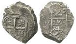 Potosi, Bolivia, cob 2 reales, 1747q.